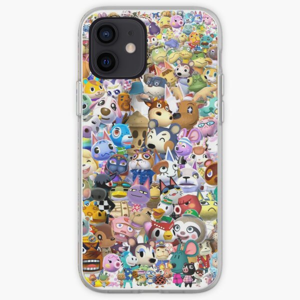 Animal Crossing (Duvet, Phoen case, sticker etc) iPhone Soft Case RB3004product Offical Animal Crossing Merch