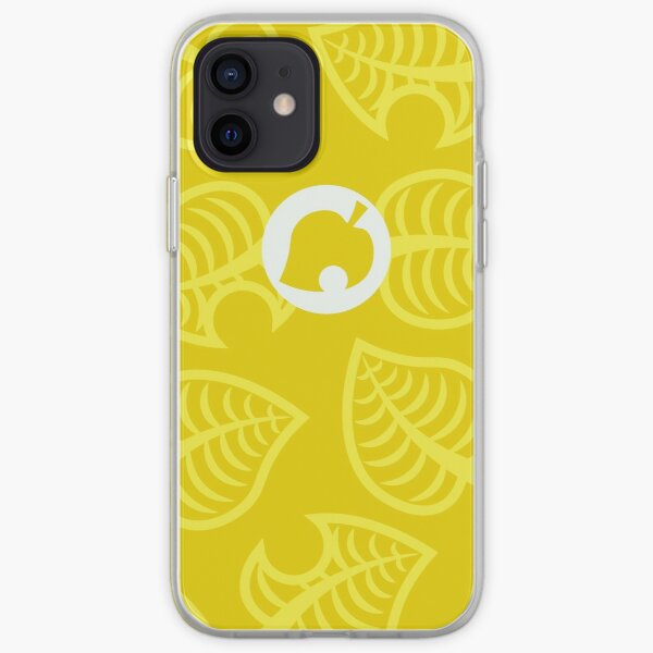 Yellow Nook Phone Inspired Design iPhone Soft Case RB3004product Offical Animal Crossing Merch
