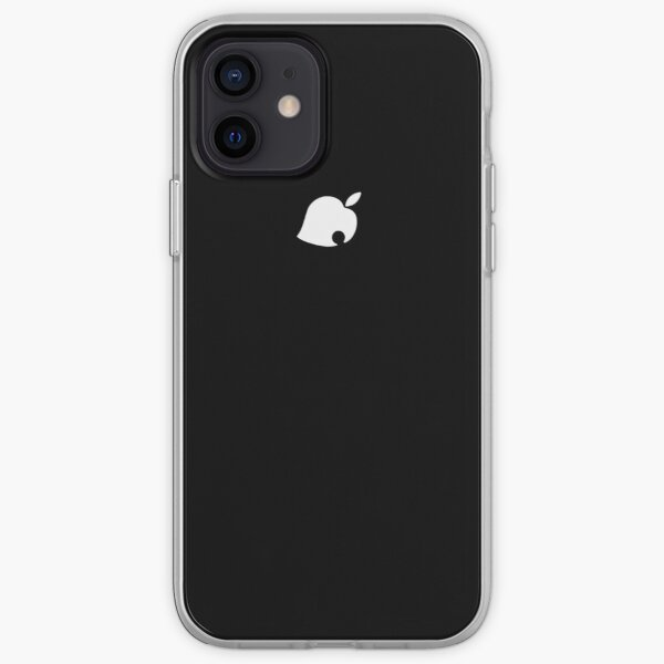 Apple Crossing (Black) iPhone Soft Case RB3004product Offical Animal Crossing Merch