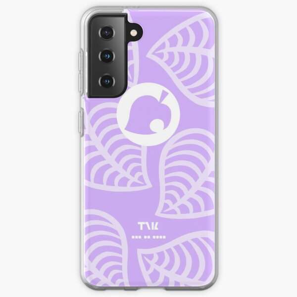 NookPhone Case Lavender  Samsung Galaxy Soft Case RB3004product Offical Animal Crossing Merch