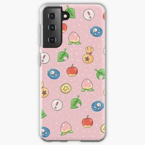 Animal Crossing Icons v.2  Samsung Galaxy Soft Case RB3004product Offical Animal Crossing Merch