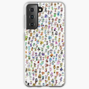 Animal Crossing New Leaf - All Villagers Samsung Galaxy Soft Case RB3004product Offical Animal Crossing Merch