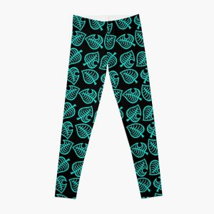 Animal Crossing New Horizons Leaf Pattern Leggings RB3004product Offical Animal Crossing Merch