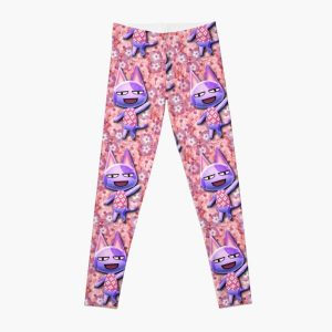FLORAL BOB THE CAT | ACNL Leggings RB3004product Offical Animal Crossing Merch