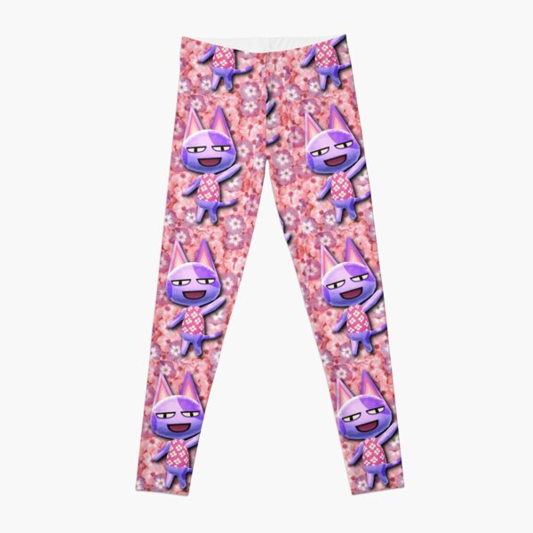 FLORAL BOB THE CAT   ACNL Leggings RB3004product Offical Animal Crossing Merch
