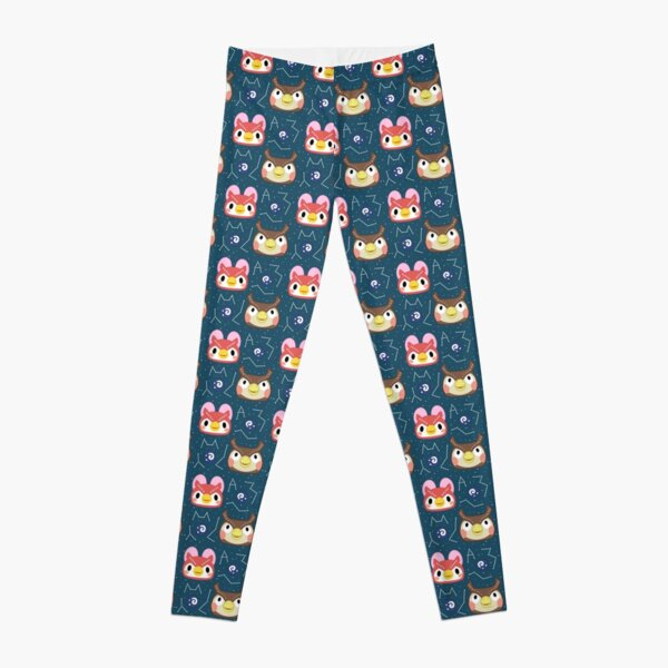 Animal Crossing - Celeste and Blathers Leggings RB3004product Offical Animal Crossing Merch