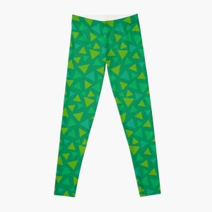 ANIMAL CROSSING GRASS 2 Leggings RB3004product Offical Animal Crossing Merch