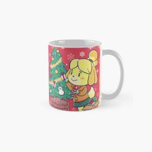 Isabella Animal Crossing Inspired Artwork - Xmas Tree Classic Mug RB3004product Offical Animal Crossing Merch