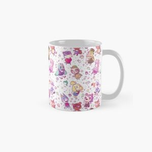 Animal Crossing Pattern Classic Mug RB3004product Offical Animal Crossing Merch