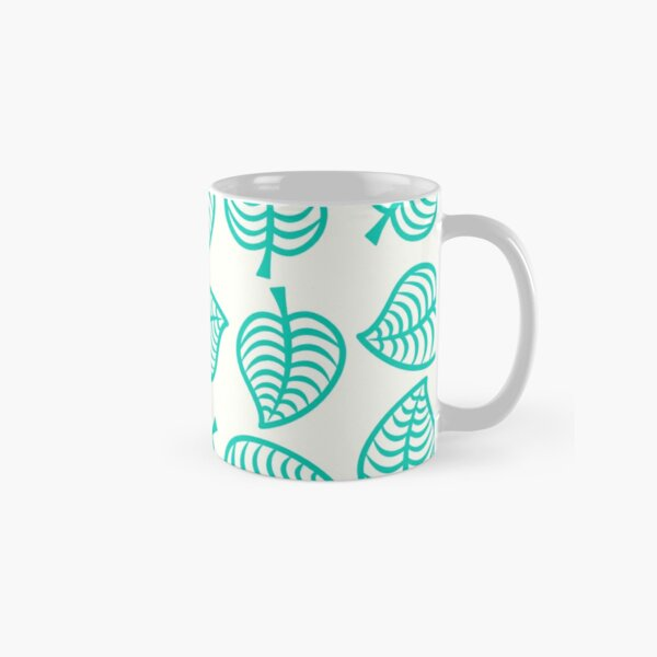 Island Life Pattern | Animal Crossing New Horizons Inspired Pattern Classic Mug RB3004product Offical Animal Crossing Merch