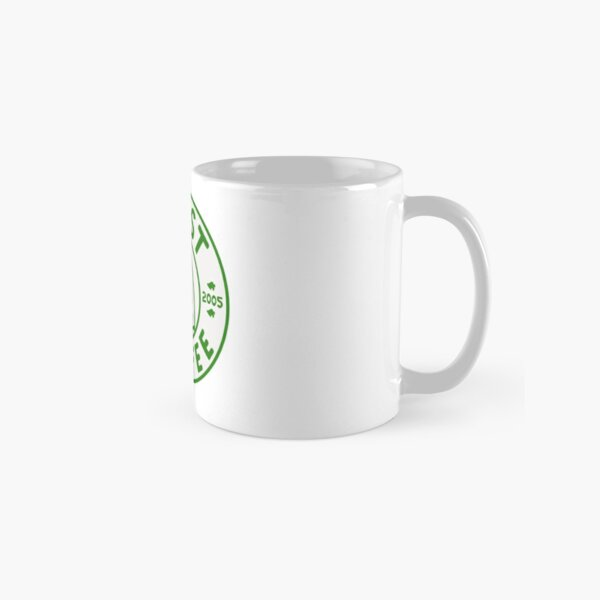 Animal crossing the roost coffee logo design green Classic Mug RB3004product Offical Animal Crossing Merch