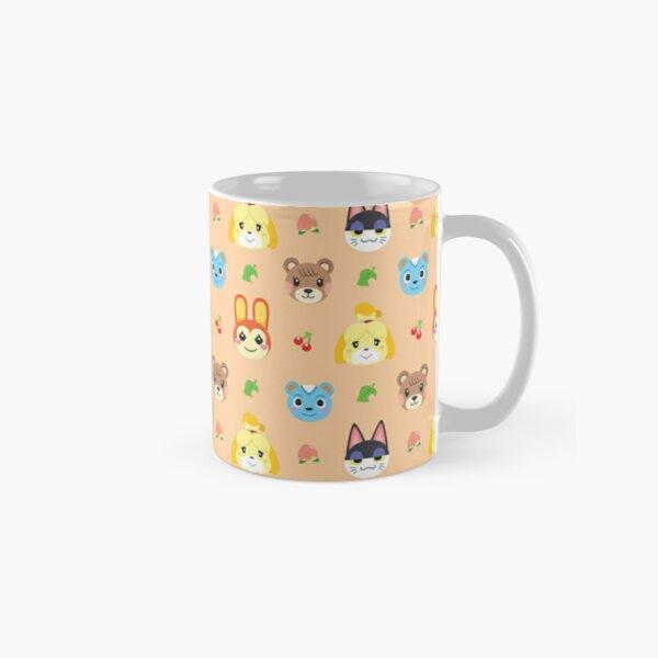 Animal Crossing Pattern - Peach Classic Mug RB3004product Offical Animal Crossing Merch