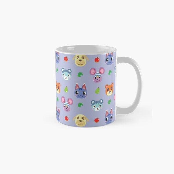 Animal Crossing Pattern V2 - Purple Classic Mug RB3004product Offical Animal Crossing Merch