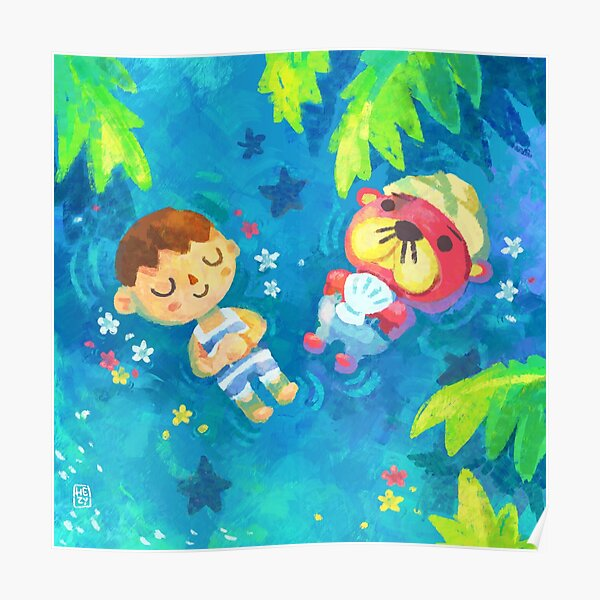 Pascal and I - Animal Crossing Poster RB3004product Offical Animal Crossing Merch
