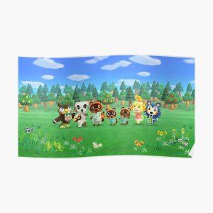 Original Animal Crossing Mug Poster RB3004product Offical Animal Crossing Merch