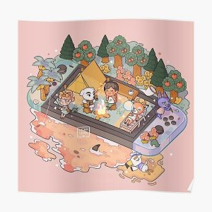 Animal Crossing Poster RB3004product Offical Animal Crossing Merch