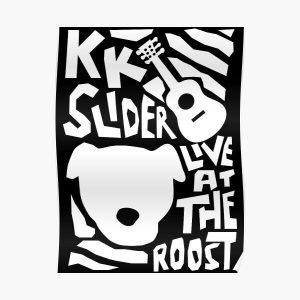 KK Slider  Poster RB3004product Offical Animal Crossing Merch
