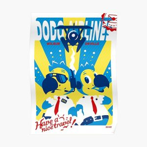 Dodo Airlines Poster RB3004product Offical Animal Crossing Merch