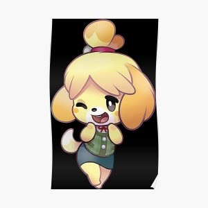 Isabelle animal crossing Poster RB3004product Offical Animal Crossing Merch