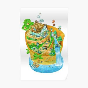 Animal Crossing New Leaf Poster RB3004product Offical Animal Crossing Merch