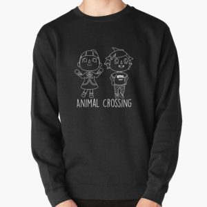 Animal Crossing Villagers Outline Pullover Sweatshirt RB3004product Offical Animal Crossing Merch