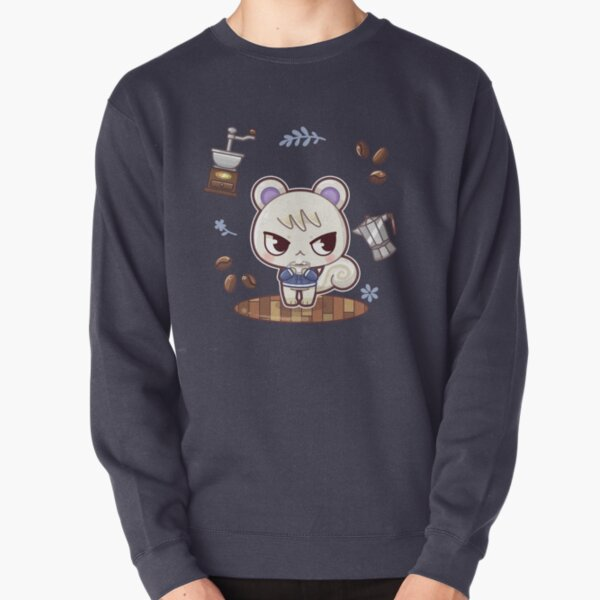 Coffee Boy Pullover Sweatshirt RB3004product Offical Animal Crossing Merch