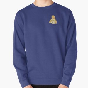 Shocked Isabelle Pullover Sweatshirt RB3004product Offical Animal Crossing Merch