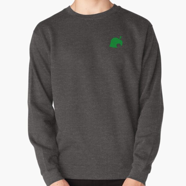 Animal Crossing Leaf Pullover Sweatshirt RB3004product Offical Animal Crossing Merch