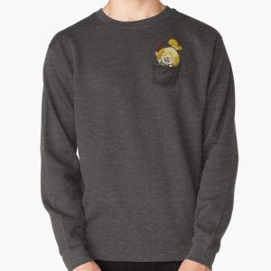 Isabelle Pocket Tee Pullover Sweatshirt RB3004product Offical Animal Crossing Merch