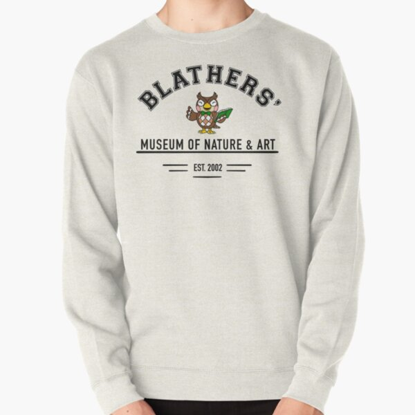 Animal Crossing Blathers' Museum Pullover Sweatshirt RB3004product Offical Animal Crossing Merch