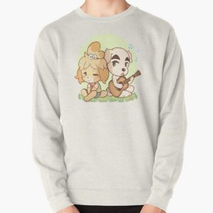 Animal Crossing Isabelle and K.K. Slider Pullover Sweatshirt RB3004product Offical Animal Crossing Merch