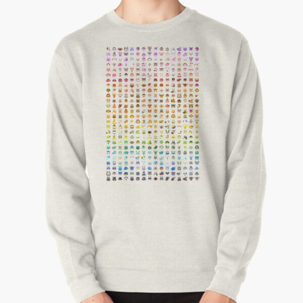 Animal Crossing Villager Rainbow  Pullover Sweatshirt RB3004product Offical Animal Crossing Merch
