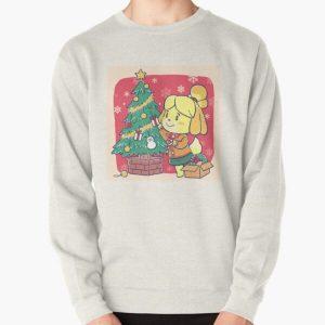 Isabella Animal Crossing Inspired Artwork - Xmas Tree Pullover Sweatshirt RB3004product Offical Animal Crossing Merch
