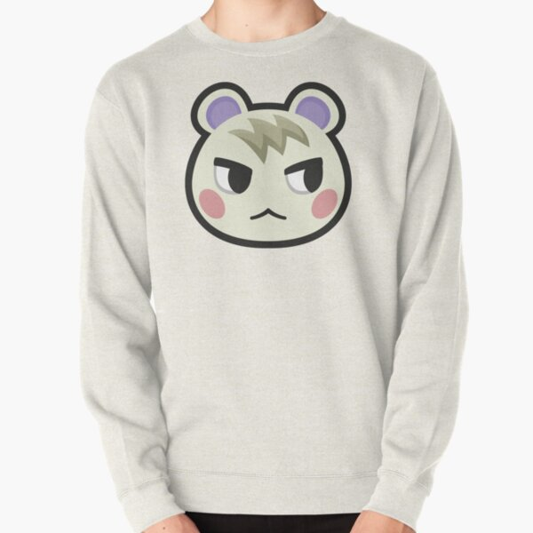 MARSHAL ANIMAL CROSSING Pullover Sweatshirt RB3004product Offical Animal Crossing Merch