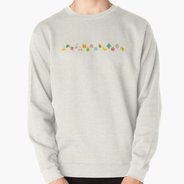 ANIMAL CROSSING HHD PATTERN Pullover Sweatshirt RB3004product Offical Animal Crossing Merch
