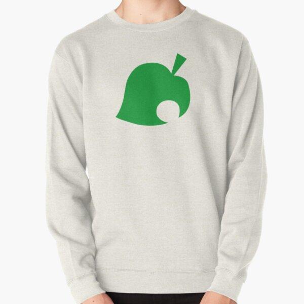 Animal Crossing Leaf Logo Pullover Sweatshirt RB3004product Offical Animal Crossing Merch