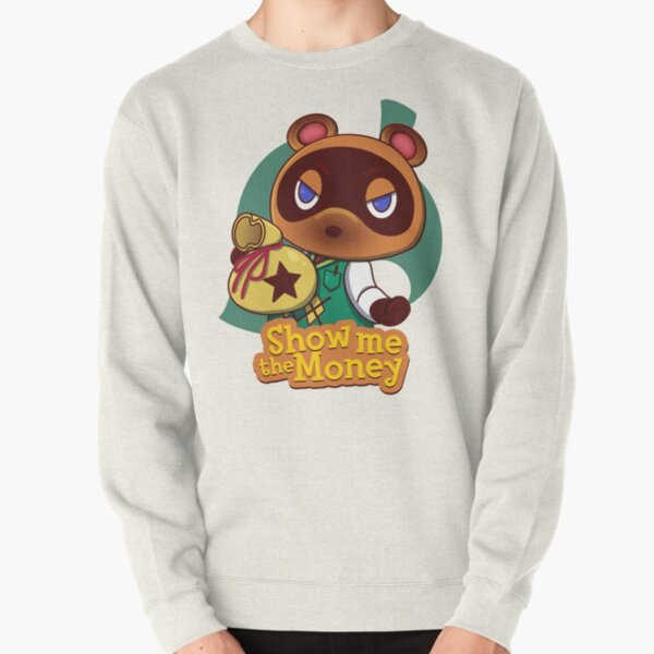 Show me the Money Pullover Sweatshirt RB3004product Offical Animal Crossing Merch