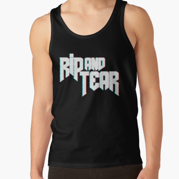 Rip and Tear   Doom   Doom Eternal Tank Top RB3004product Offical Animal Crossing Merch