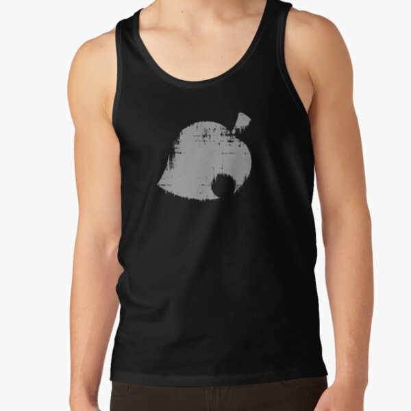 Animal Crossing Leaf Distressed Tank Top RB3004product Offical Animal Crossing Merch