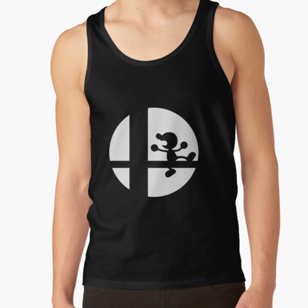 Mr. Game and Watch - Super Smash Bros. Tank Top RB3004product Offical Animal Crossing Merch
