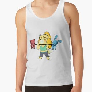 Animal Crossing Isabelle Tank Top RB3004product Offical Animal Crossing Merch