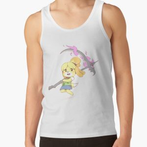 Isabelle is Ready to Wreak Havoc! Tank Top RB3004product Offical Animal Crossing Merch