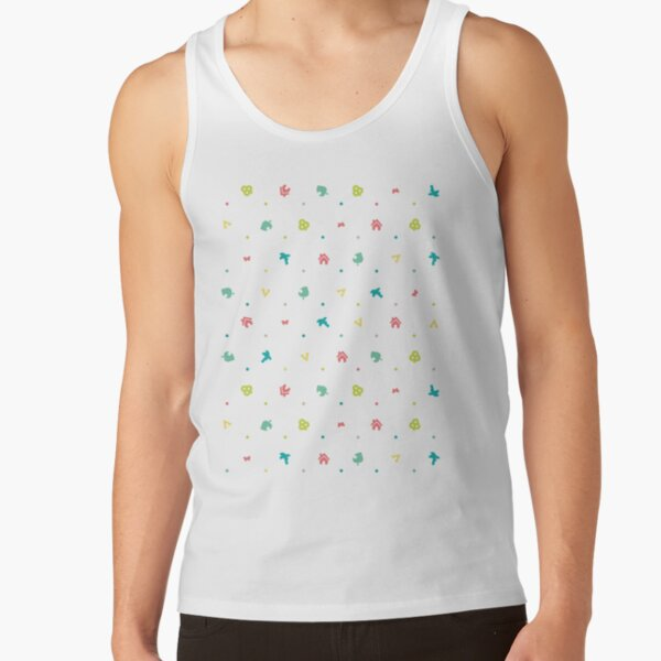 Animal Crossing Pattern Tank Top RB3004product Offical Animal Crossing Merch