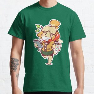 Isabelle - Ready for Work! Classic T-Shirt RB3004product Offical Animal Crossing Merch