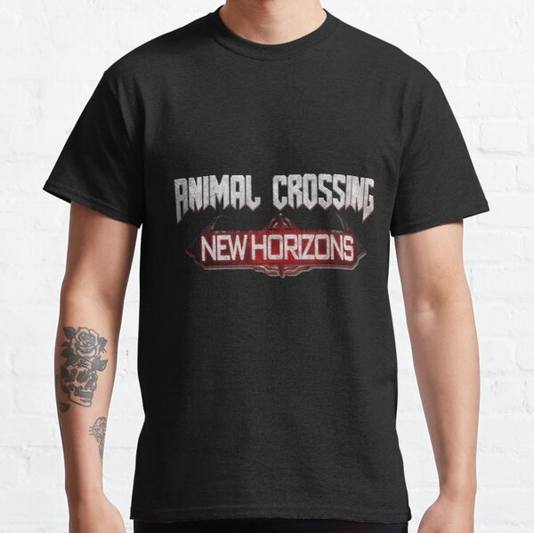 Animal Crossing New Horizons: Doom Eternal Classic T-Shirt RB3004product Offical Animal Crossing Merch