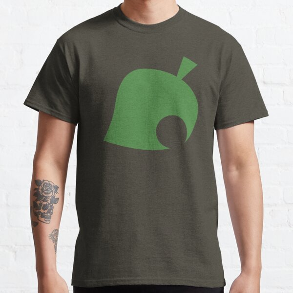 Animal Crossing Leaf Classic T-Shirt RB3004product Offical Animal Crossing Merch