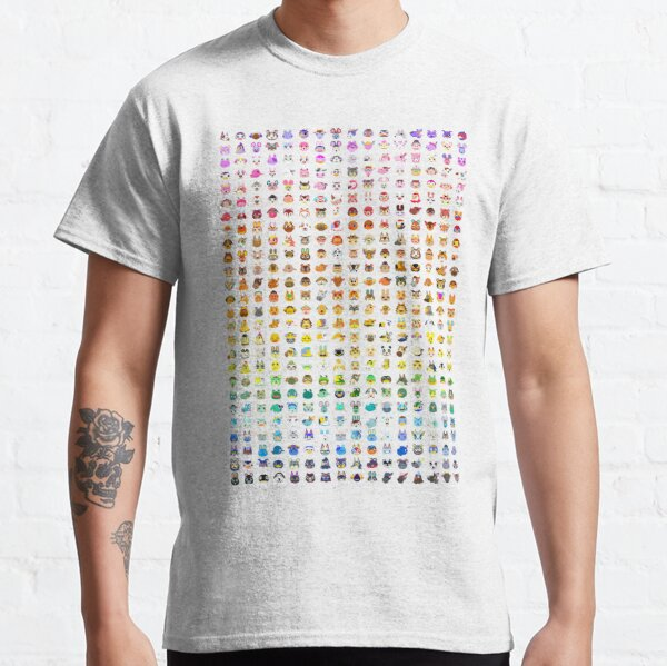 Animal Crossing Villager Rainbow  Classic T-Shirt RB3004product Offical Animal Crossing Merch