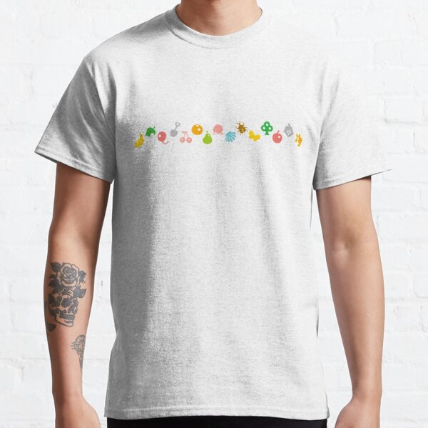 ANIMAL CROSSING HHD PATTERN Classic T-Shirt RB3004product Offical Animal Crossing Merch