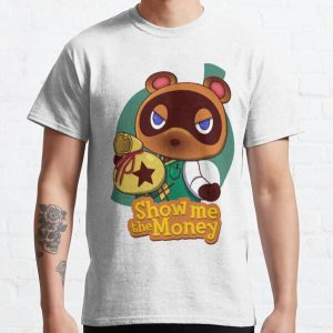Show me the Money Classic T-Shirt RB3004product Offical Animal Crossing Merch