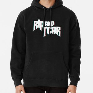 Rip and Tear | Doom | Doom Eternal Pullover Hoodie RB3004product Offical Animal Crossing Merch